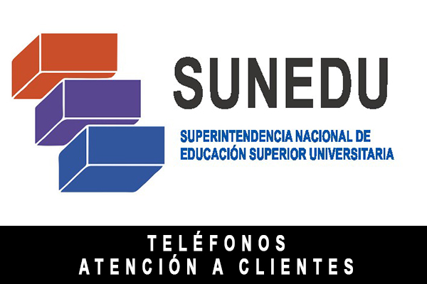 Teléfono SUNEDU